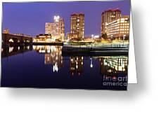 East Cambridge Massachusetts Greeting Card