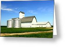 East Central Illinois Farm Buildings By Earl's Photography Greeting Card