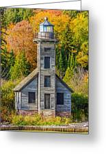 East Channel Lighthouse Greeting Card