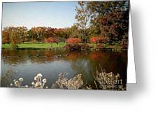 East Coast Autumn Greeting Card