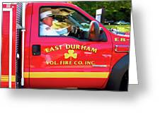 East Durham Vol. Fire Co.inc 1 Greeting Card