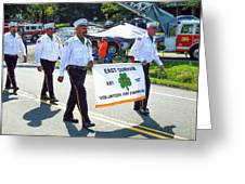 East Durham Volunteer Fire Company Inc 3 Greeting Card