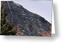 East Face Of Canon Mountain Greeting Card