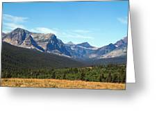 East Glacier Park Greeting Card