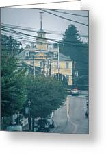 East Greenwich Rhode Island Waterfront Scenes Greeting Card
