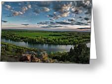 East Idaho View Greeting Card