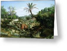 East Landscape Henryk Semiradsky Greeting Card