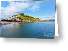 East Looe From Banjo Pier Greeting Card