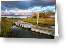 East Moriches Reflections Greeting Card