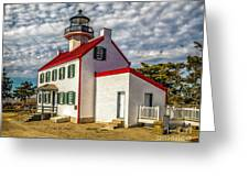 East Point Light -renovated Greeting Card