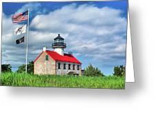 East Point Lighthouse Nj Greeting Card