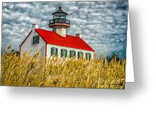 East Point On The Maurice River  Greeting Card