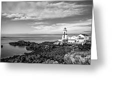 East Quoddy Lighthouse Greeting Card