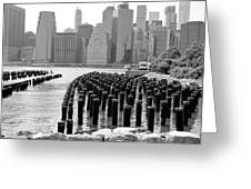 East River #1 Greeting Card