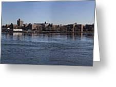 East River Panorama Greeting Card