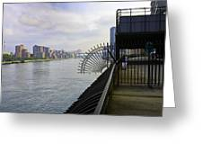 East River View Looking South Greeting Card