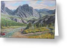 East Rosebud Montana Greeting Card
