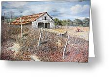 East Texas Barn Greeting Card