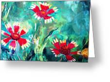 East Texas Wild Flowers Greeting Card