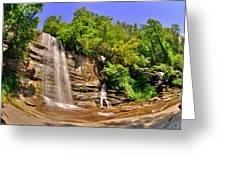 Eastatoe Falls/twin Falls 2 Greeting Card