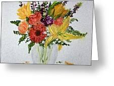 Easter Arrangement Greeting Card