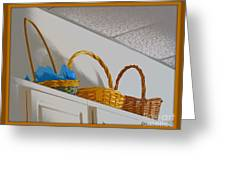 Easter Baskets Greeting Card
