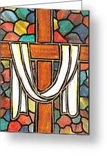 Easter Cross 6 Greeting Card