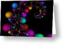 Easter Dna Galaxy 111 Greeting Card