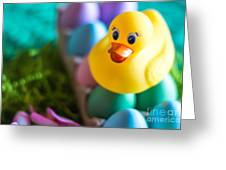 Easter Duckie Greeting Card