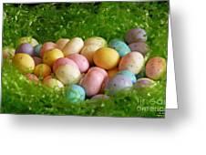 Easter Egg Nest Greeting Card