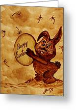 Easter Golden Egg For You Greeting Card
