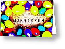 Easter In Marrakech Greeting Card