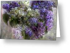 Easter Lilacs Greeting Card