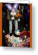 Easter Parade Visit Greeting Card