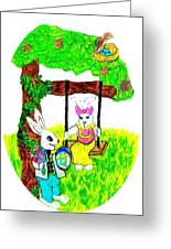 Easter Show Some Bunny Love Greeting Card