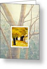 Eastern Autumn Greeting Card