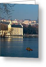 Eastern European Fishing Greeting Card