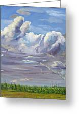 Eastern Flagler County Cloud Series IIi Greeting Card