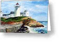 Eastern Point Light Greeting Card