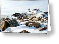 Eastern Point Light II Greeting Card