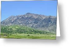Eastern Sierra July Greeting Card