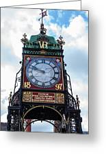 Eastgate Clock In Chester Greeting Card