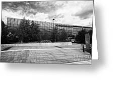 eastside millennium point building Birmingham UK Greeting Card