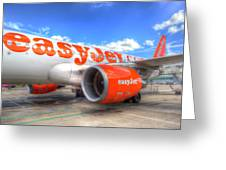 Easyjet Airbus A320 Greeting Card