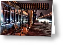 Eatery Greeting Card