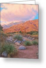 Eaton Canyon Sunset Greeting Card