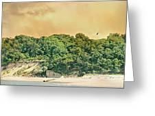 Eaton's Neck Lighthouse Circa 1798 Greeting Card