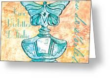 Eau De Toilette Greeting Card