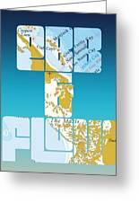 Ebb And Flow Bahamas Greeting Card