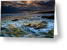 Ebb And Flow II Greeting Card